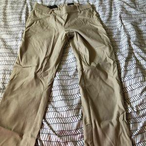 Dressy khaki pants